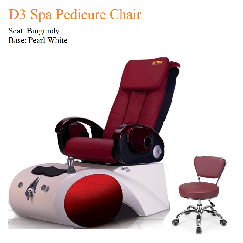 D3 Spa Pedicure Chair with Fully Automatic Massage System