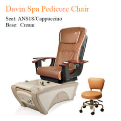 Davin Spa Pedicure Chair with Magnetic Jet – Human Touch Massage System