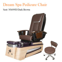 Dream Luxury Spa Pedicure Chair with Magnetic Jet and Built-in-Remote