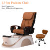 E3 Spa Pedicure Chair with Fully Automatic Massage System