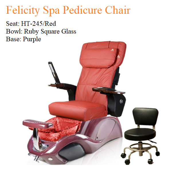 Felicity Spa Pedicure Chair with Magnetic Jet – Human Touch Massage System