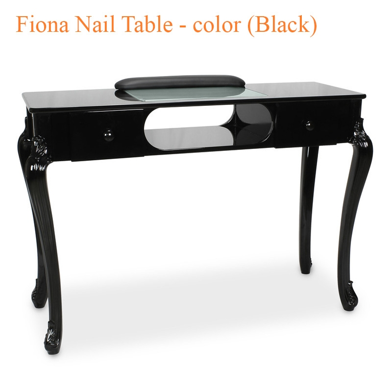 Fiona Nail Table – 44 inches – color (Black)