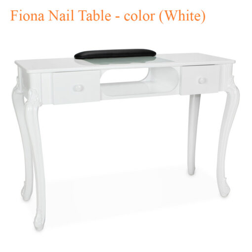 Fiona Nail Table – 44 inches – color (White)