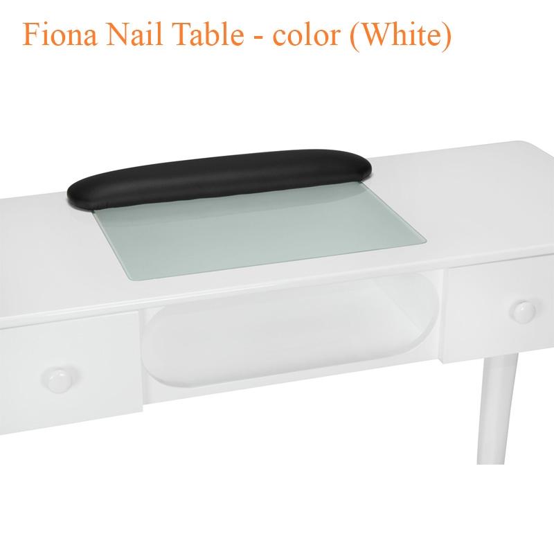 Bàn Nail Fiona Màu Trắng – 44 Inches