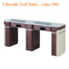 I Double Nail Table 69 inches – color 90 100x100 - I Double Nail Table - 69 inches – color (90)