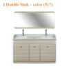 I Single Sink With Faucet – 35 inches – color (517)