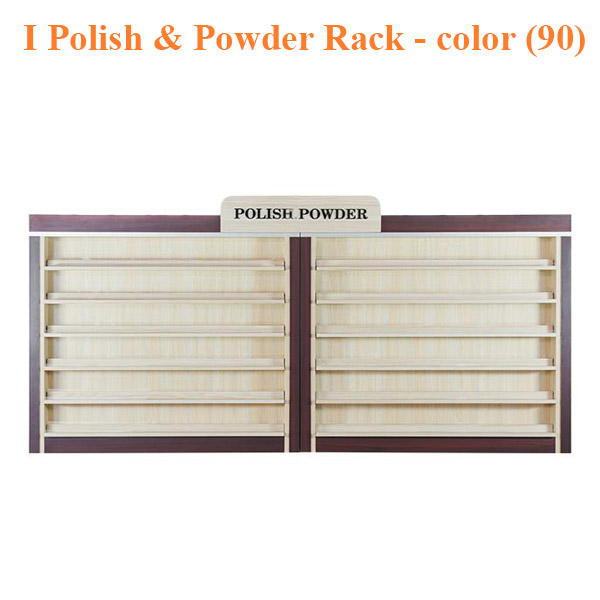 I Polish & Powder Rack – 86 inches – color (90)