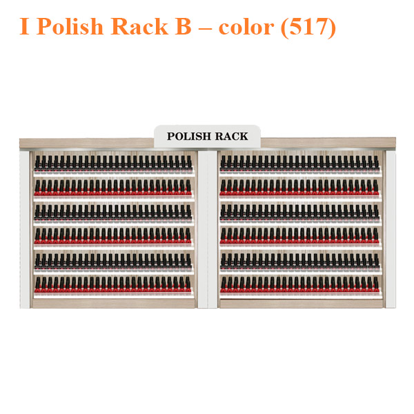 I Polish Rack B – 86 inches – color (517)