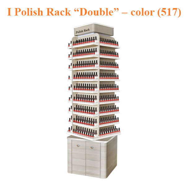 "I Polish Rack ""Double"" Stand – 21 inches – color (517)"