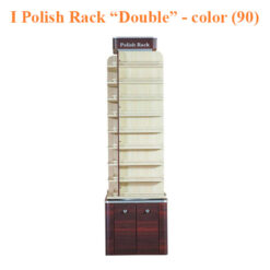 """I Polish Rack """"Double"""" Stand – 21 inches – color (90)"""