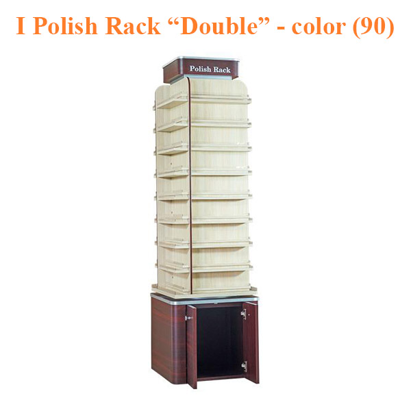 "I Polish Rack ""Double"" Stand – 21 inches – color (90)"