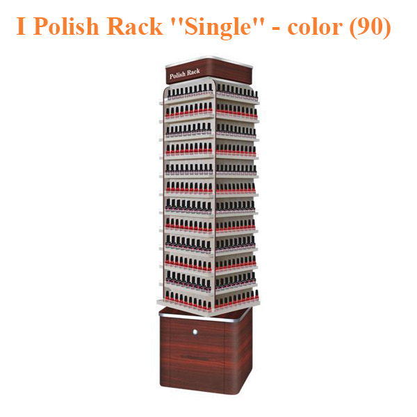 "I Polish Rack ""Single"" Stand – 19 inches – color (90)"