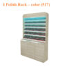 I Powder Rack With Powder Cabinet – 48 inches – color (517)