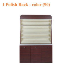 Athena Polish Rack With Gel Color Cabinet – 48 inches