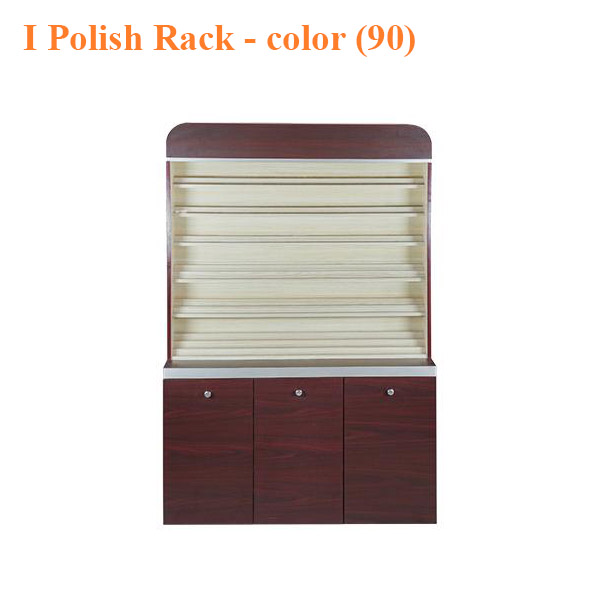 I Polish Rack With Gel Color Cabinet 48 inches – color 90 0 - Top Selling