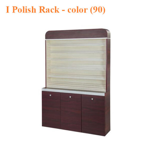 I Polish Rack With Gel Color Cabinet – 48 inches – color (90)