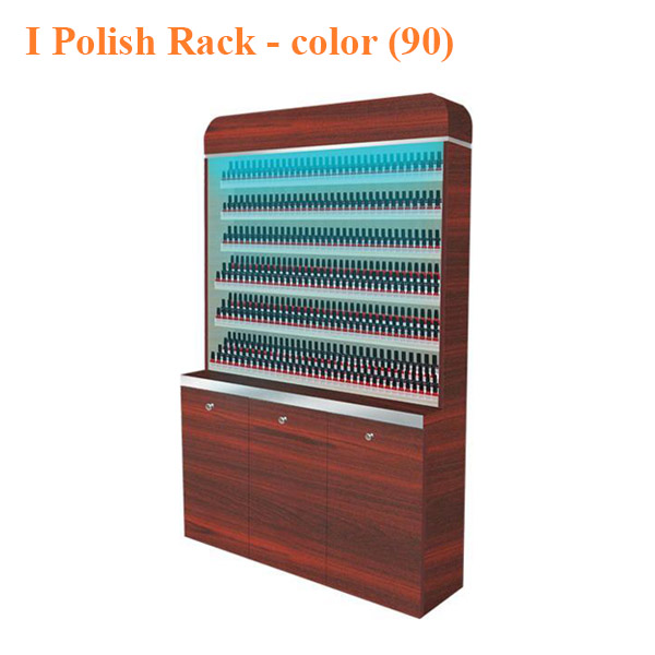 I Polish Rack With Gel Color Cabinet 48 inches – color 90 - Top Selling