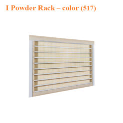 I Powder Rack – 43 inches – color (517)