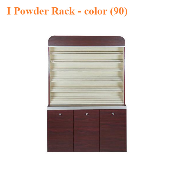 I Powder Rack With Powder Cabinet – 48 inches – color (90)