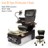 Ghế Làm Chân Ion I Với Hệ Thống Mát-Xa Human-Touch Và Jet Nam Châm