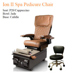 Ion II Spa Pedicure Chair with Magnetic Jet – Human Touch Massage System