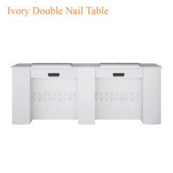Ivory Double Nail Table 75 inches 0 247x247 - Thiết bị đồ nội thất tiệm nail làm móng tay móng chân
