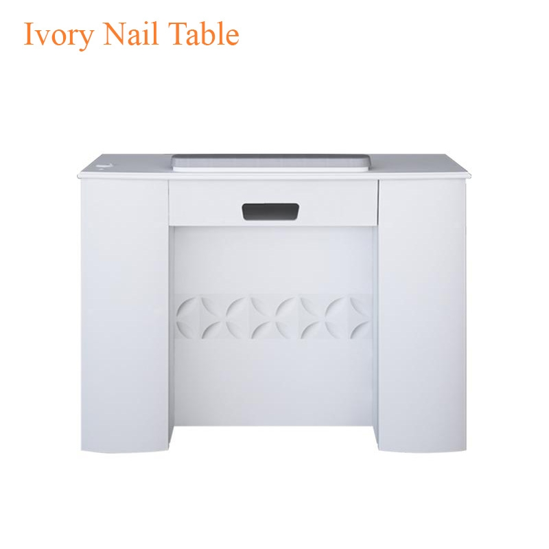 Ivory Nail Table – 43 inches