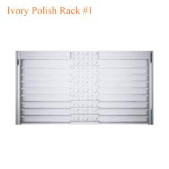 Ivory Polish Rack #1 – 84 inches