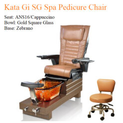Kata Gi SG Spa Pedicure Chair with Magnetic Jet – Human Touch Massage System