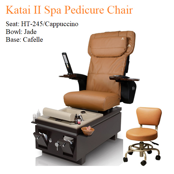Katai II Spa Pedicure Chair with Magnetic Jet – Human Touch Massage System