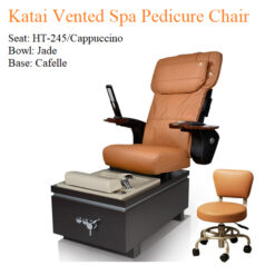 Katai Vented Luxury Spa Pedicure Chair with Magnetic Jet – Human Touch Massage System