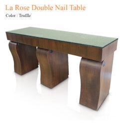 La Rose Double Nail Table 84 inches 0 247x247 - Thiết bị đồ nội thất tiệm nail làm móng tay móng chân