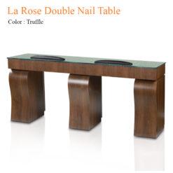 La Rose Double Nail Table 84 inches 247x247 - Thiết bị đồ nội thất tiệm nail làm móng tay móng chân