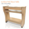 La Rose Nail Dryer Table – 56 inches