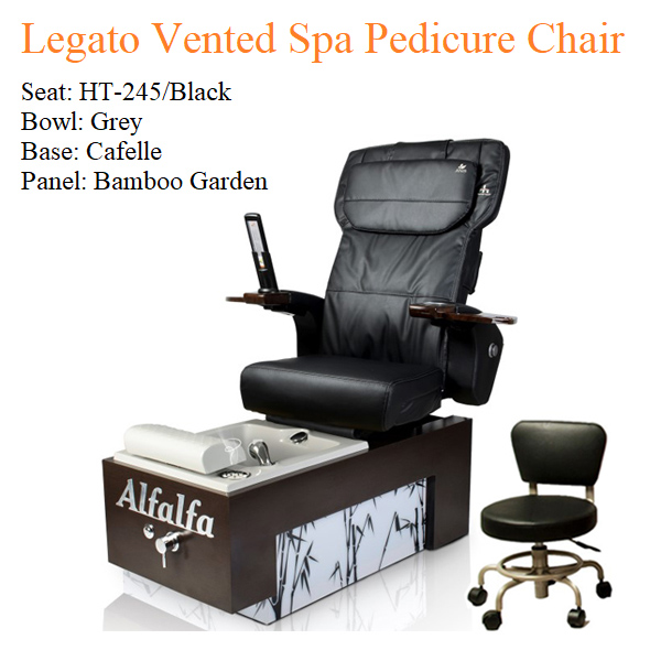 Legato Vented Spa Pedicure Chair with Magnetic Jet – Human Touch Massage System 02 - Trang chủ