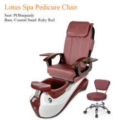 Lotus Spa Pedicure Chair with Magnetic Jet – Shiatsulogic Massage System 09 247x247 - Equipment nail salon furniture manicure pedicure