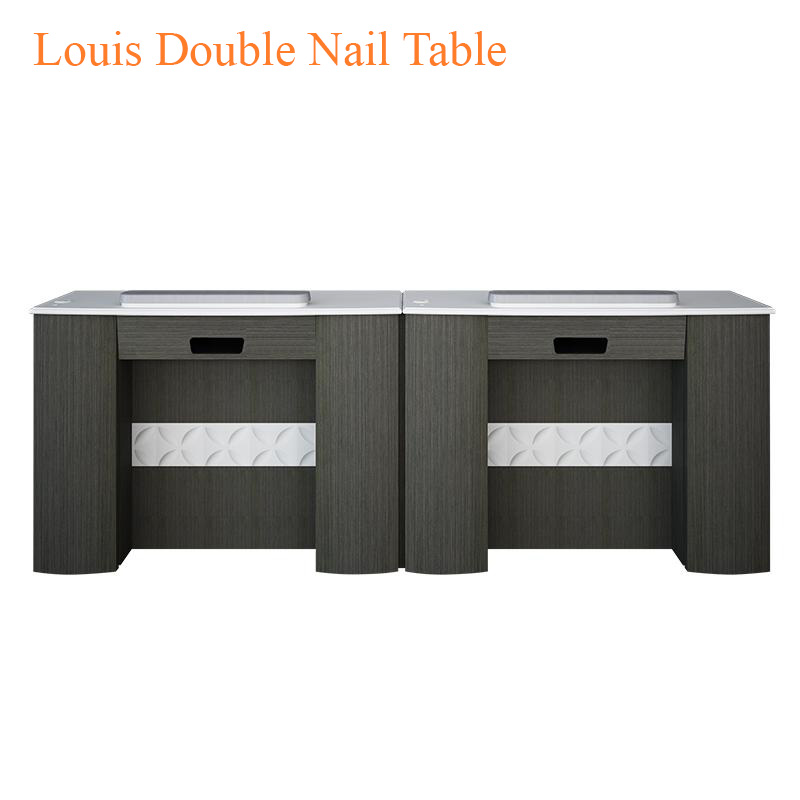 Louis Double Nail Table – 86 inches