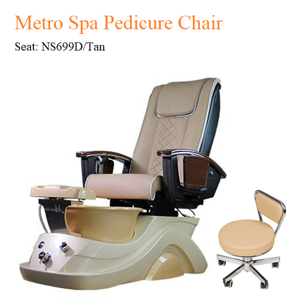 Metro Spa Pedicure Chair with Magnetic Jet and Built-in-Remote