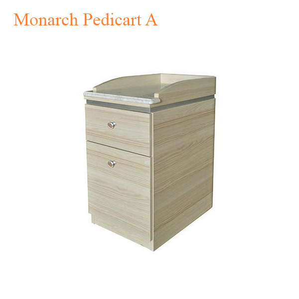 Monarch Pedicart A with Built – In Trash Can – 13 inches