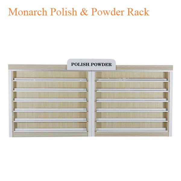 Monarch Polish & Powder Rack – 86 inches