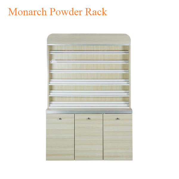 Monarch Powder Rack with Powder Cabinet – 48 inches