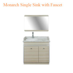 Monarch Single Sink with Faucet – 35 inches