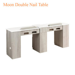 Moon Double Nail Table 76 inches 247x247 - Equipment nail salon furniture manicure pedicure