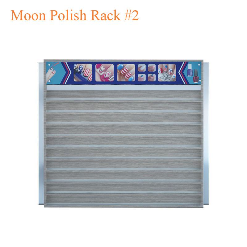 Moon Polish Rack #2 – 60 inches