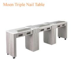 Moon Triple Nail Table 96 inches 247x247 - Equipment nail salon furniture manicure pedicure