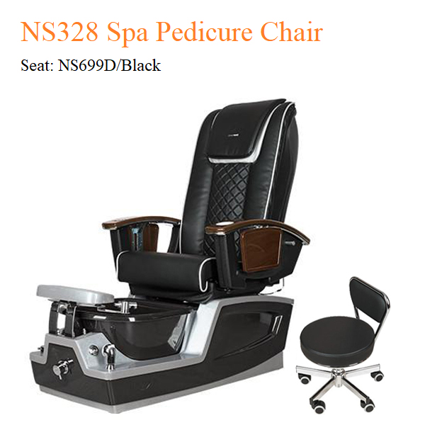 NS328 Spa Pedicure Chair with Magnetic Jet and Built-in-Remote
