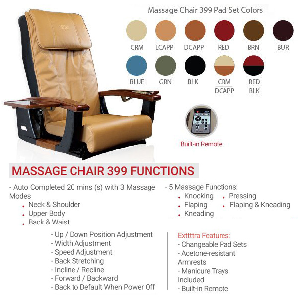 NS399 Pedicure Massage Chair 1 - Top Selling