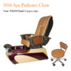 NS298 Spa Pedicure Chair with Magnetic Jet and Built-in-Remote