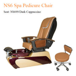 NS6 Spa Pedicure Chair with Magnetic Jet and Built-in-Remote