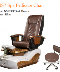 NS7 Luxury Spa Pedicure Chair with Magnetic Jet and Built-in-Remote